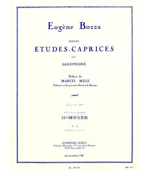 Bozza E. - 12 Etudes-caprices - Saxophone