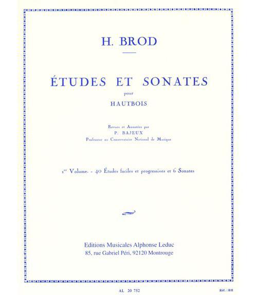 Brod Henri - Etudes Et Sonates Vol.1