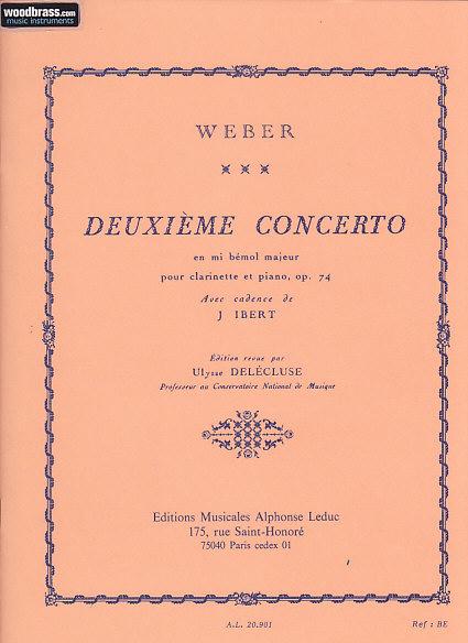Weber C. W. - Concerto Nr. 2 Mib Majeur Op. 74