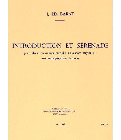 Barat:introduction Et Serenade.tuba/piano