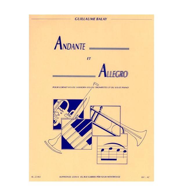 Balay G. - Andante Et Allegro - Trompette Et Piano