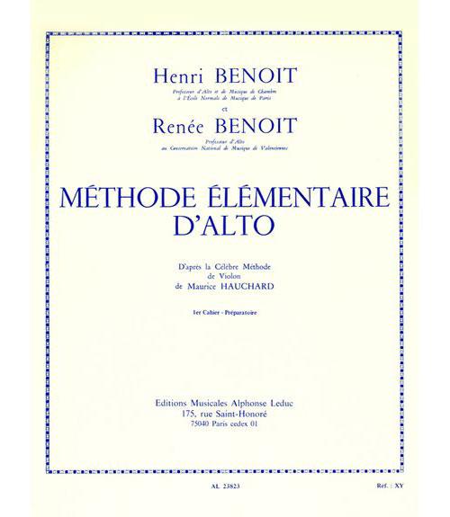Benoit - Methode Elementaire Vol.1
