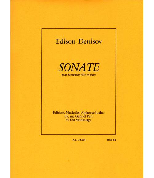 Denisov Edison - Sonate - Saxophone Alto and Piano