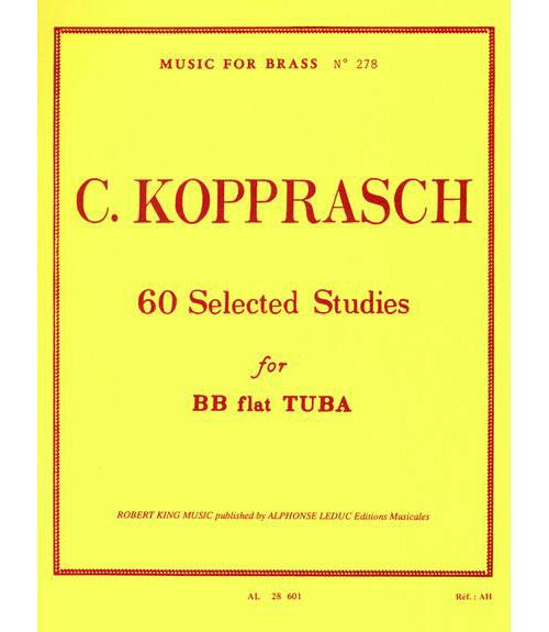 Kopprasch:60 Etudes.tuba