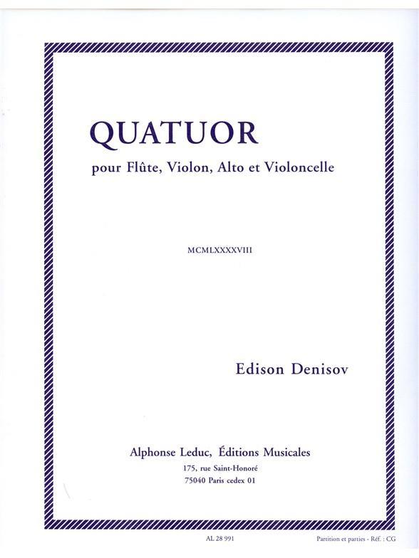 Denisov Edison - Quatuor