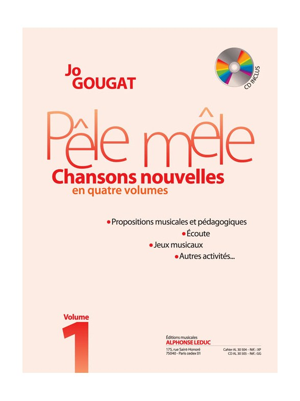GOUGAT JO - PELE MELE VOL.1 + CD