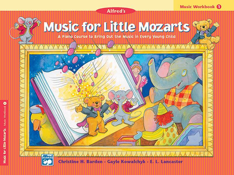 Music For Little Mozarts - Music Workbook Book 1 - Piano