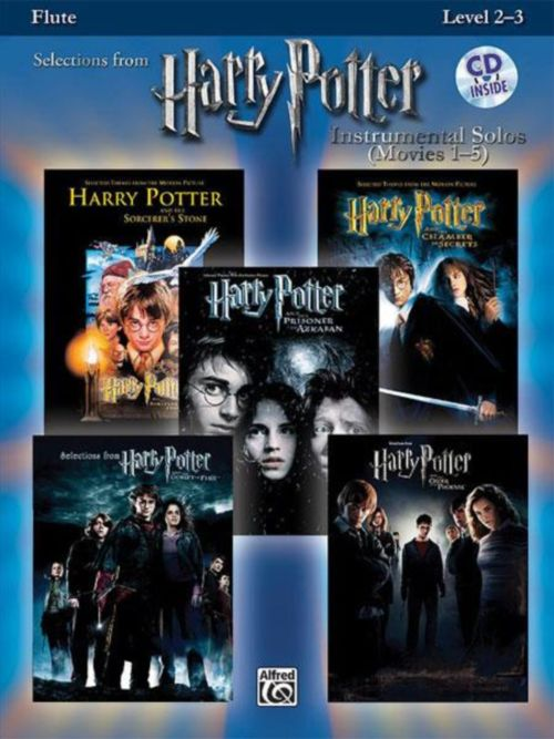 Harry Potter Solos + Cd - Flute Solo
