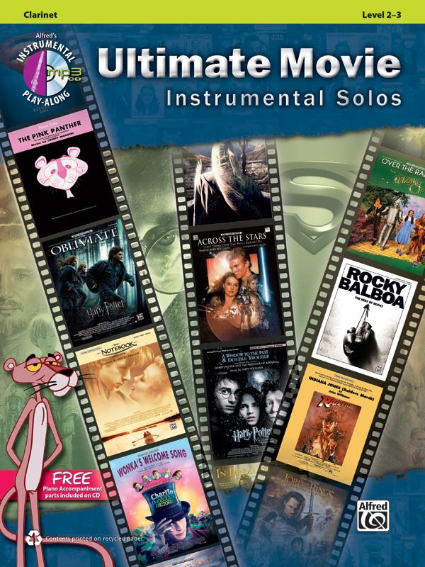 Ultimate Movie Instrumental Solos - Clarinette + Cd