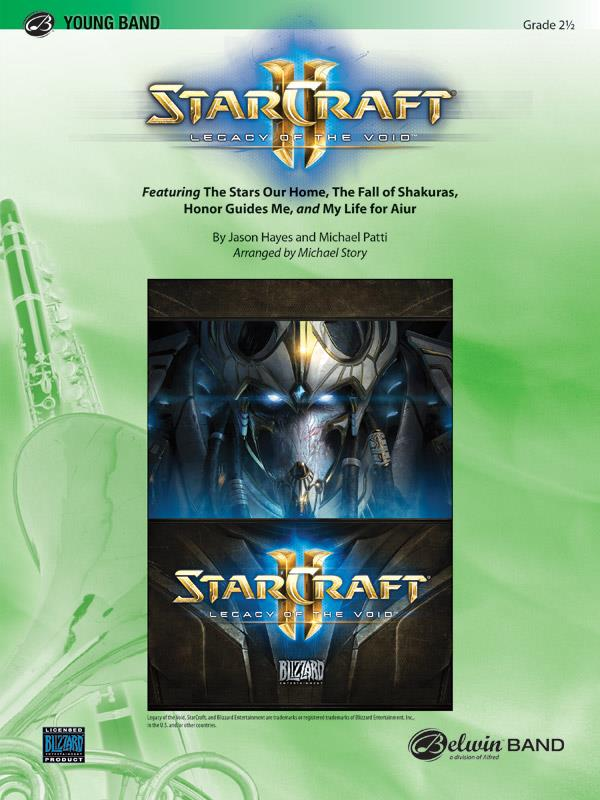 Hayes M. - Starcraft Ii Legacy To The Void - Score and Parts