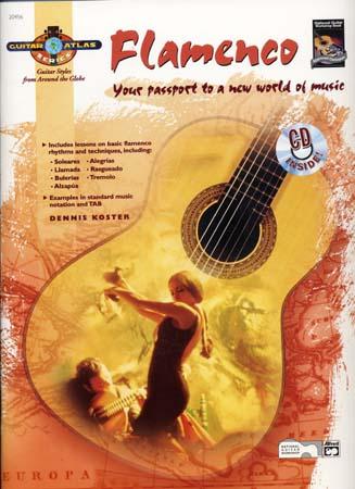 Koster Dennis - Guitar Atlas Flamenco + Cd