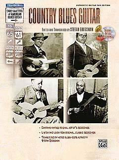 GROSSMAN STEPHEN - COUNTRY BLUES GUITAR + CD