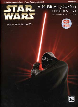 Star Wars Musical Journey Episodes I - Vi Viola/piano Acc. + Cd