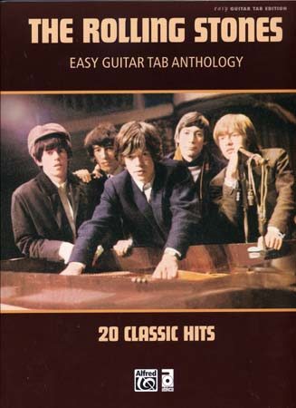 Rolling Stones - Easy Guitar Tab Anthology