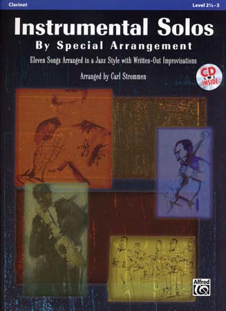 Strommen Carl - Instrumental Solos By Special Arrangement + Cd - Clarinette