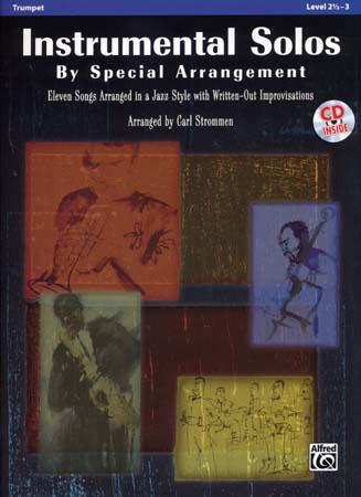 Strommen Carl - Instrumental Solos By Special Arrangement + Cd - Trompette