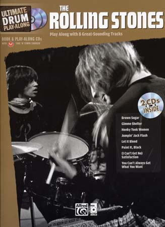Rolling Stones, The - Ultimate Drum Play Along + 2 Cd
