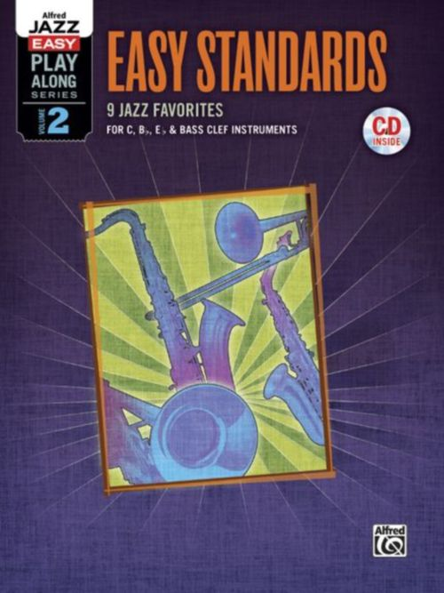 Alfred Jazz Easy Play-along Series, Vol.2 - Easy Standards + Cd - Tous Instruments