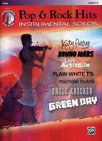 Pop & Rock Hits Instrumental Solos Flute + Cd