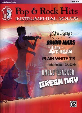 Pop & Rock Hits Instrumental Solos Alto Sax + Cd