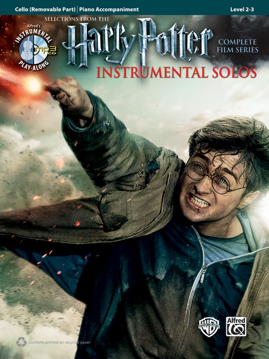 HARRY POTTER INSTRUMENTAL SOLOS FOR STRINGS - VIOLONCELLE