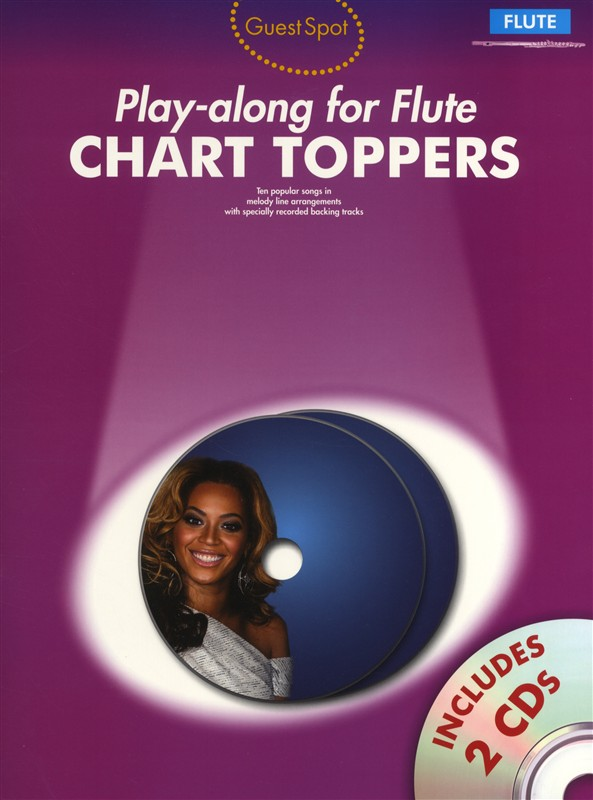 Playalong For Flute Chart Toppers And 2 - Flute