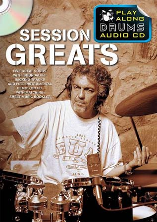 SESSION GREATS - PLAY ALONG DRUMS + CD - DRUMS