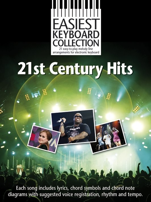 21ST CENTURY HITS - KEYBOARD