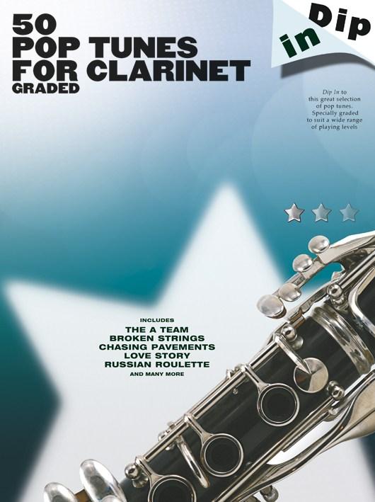 Dip In - 50 Graded Pop Clarinet Solos - Clarinet