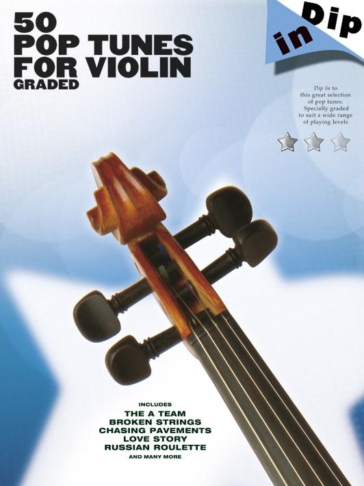 Dip In - 50 Graded Pop Violin Solos - Violin