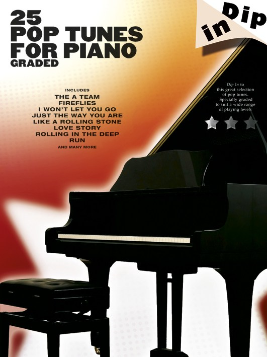 Dip In - 25 Graded Pop Piano Solos - Piano Solo