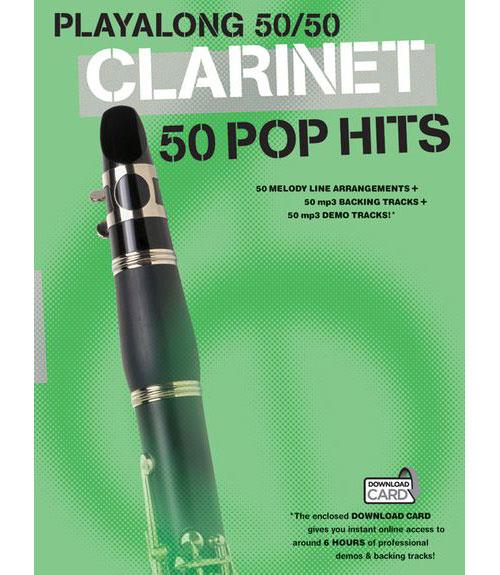 Playalong 50/50 - Clarinet - 50 Pop Hits - Clarinet
