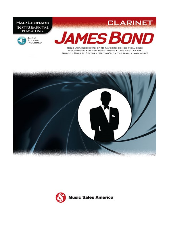 Instrumental Play Along - James Bond - Clarinette