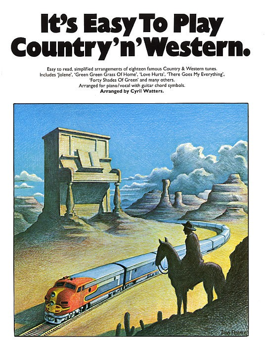 IT'S EASY TO PLAY COUNTRY 'N' WESTERN - PVG