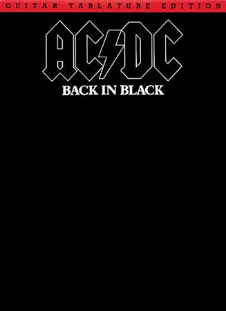 AC/DC - BACK IN BLACK - GUITAR TAB