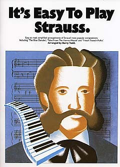 IT'S EASY TO PLAY STRAUSS - PIANO SOLO