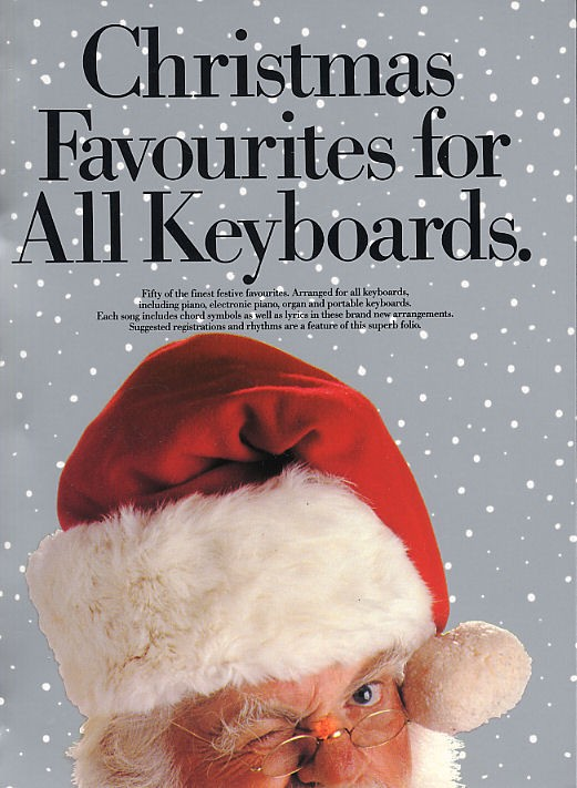 Christmas Favourites For All Keyboards - Pvg