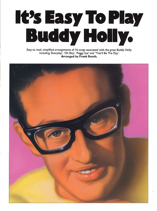 Livres de chansons Buddy Holly - Partition Buddy Holly - Tablatures ...
