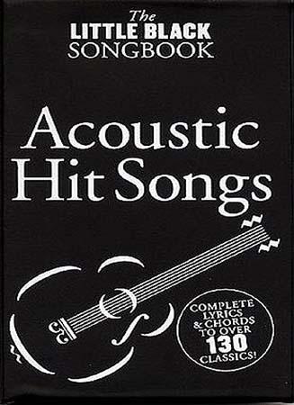 Little Black Songbook - Acoustic Hit Songs
