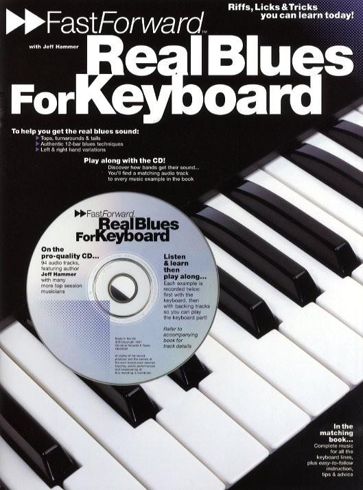 Fast Forward Real Blues + Cd - Keyboard