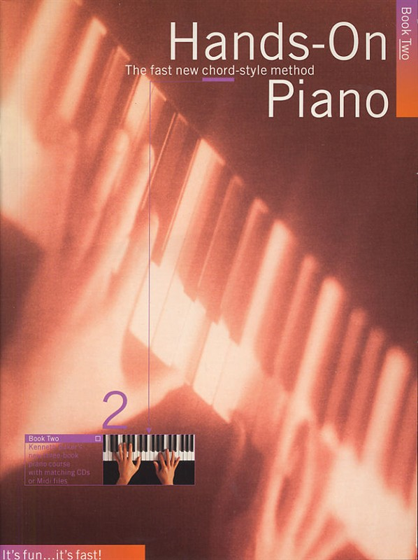 BAKER KENNETH - HANDS-ON PIANO - KENNETH BAKER...S NEW THREE-BOOK PIANO COURSE - PVG
