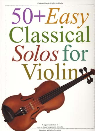 50 Easy Classical Solos - Violin