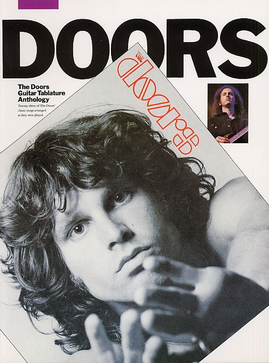 THE DOORS - ANTHOLOGY - GUITAR TAB