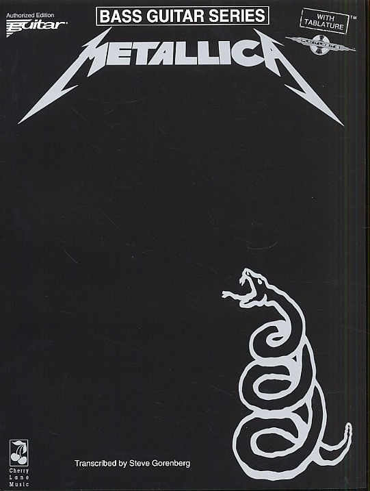 Metallica - Bass Guitar And Vocal - The Black Album - Bass Guitar Tab
