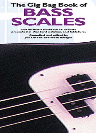 Gig Bag Book Bass Scales - Bass Tab
