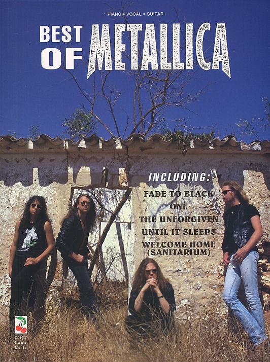Cherry Lane Music - Best Of Metallica - Pvg