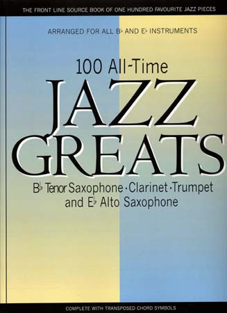 100 Alltime Jazz Greats - Bb&eb Instruments