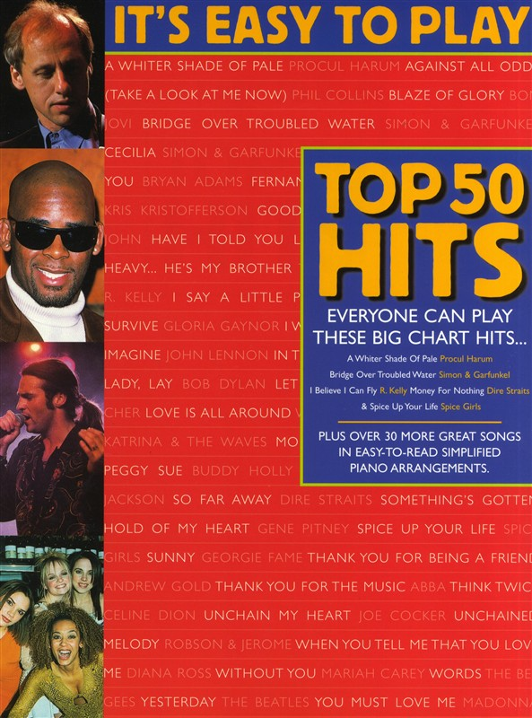 IT'S EASY TO PLAY TOP 50 HITS 2 - PVG