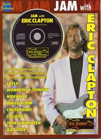 Clapton Eric - Jam With + Cd - Guitar Tab
