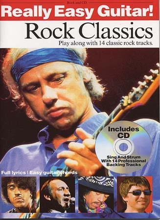 Really Easy Guitar - Rock Classics + Cd
